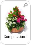 Catalogue fleurissement de tombe hiver En sa mémoire