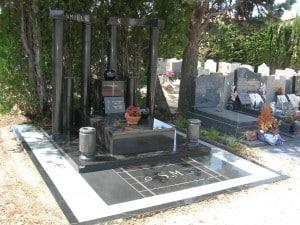 Entretien de monument funéraire
